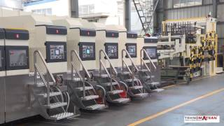 SAELD TP 820 FFG Full belt vacuum transfer