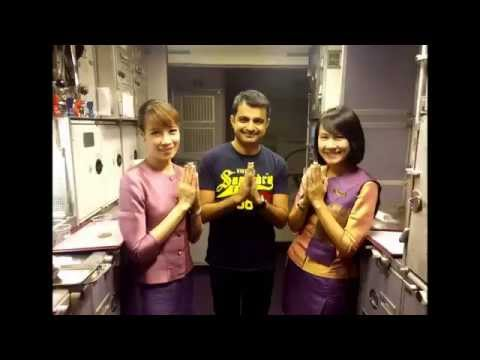 Hongkong - Mumbai via Bangkok Thai Airways Economy Class