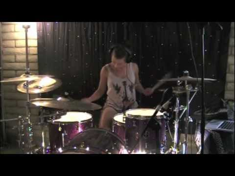 Lindsey Raye Ward - Foster The People - Helena Beat (drum Cover) video