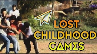 Lost childhood games of 90s : 3ViNERS | Indian traditional games | GOA |