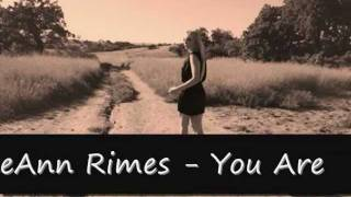 Watch Leann Rimes You Are video