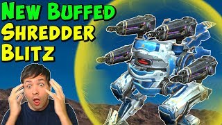 Max Damage SHREDDER BLITZ Mk2 After Accuracy Buff - War Robots Gameplay WR