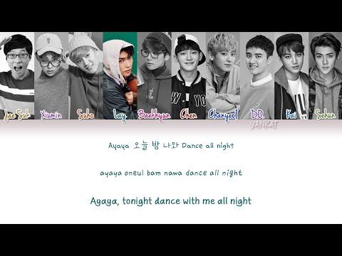 EXO & Yoo Jae Suk (유재석) – Dancing King (Color Coded Han Rom Eng Lyrics)   by Yankat
