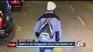 Help police identify this man who stole a marked park ranger patrol car from the VA Medical Center