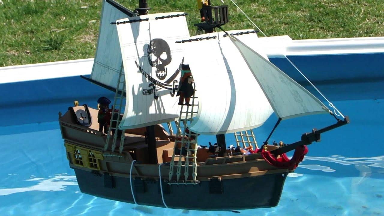 Playmobil Pirata Barco Pirata De Ataque Youtube