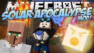 Minecraft   SOLAR APOCALYPSE MOD! (Can You Survive the FIRE?!)   Mod Showcase