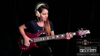 SLAP BASS with Positive Grid [Love Games - Level 42] - Anna Sentina
