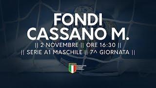 Serie A1M [7^]: Fondi - Cassano Magnago 25-29