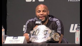 Daniel Cormier Says Jon Jones Fight Could Happen   (UFC Seasonal Press Conference)