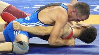 Freestyle Wrestling PIN - Lithuania vs Kazakhstan