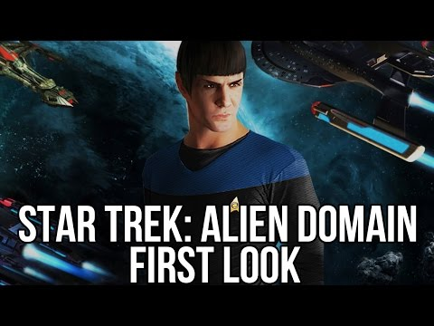 Star Trek: Alien Domain (Free MMORTS Game): Watcha Playin'? Gameplay First Look