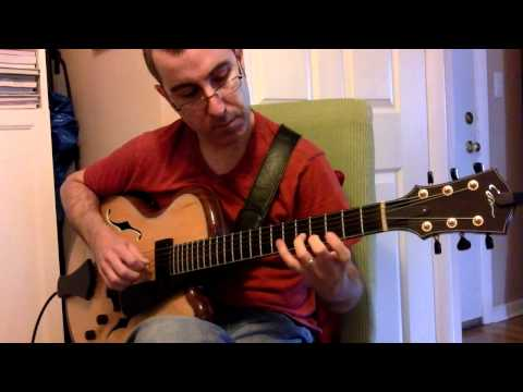 Gustavo Assis-Brasil -- My One and Only Love (Kistler Archtop Guitar + AER Compact 60)