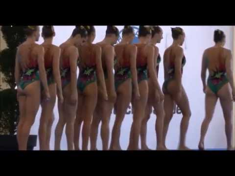 Belarus team synchro swimming