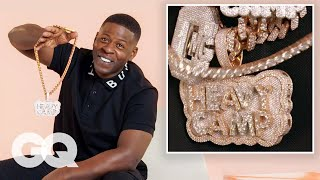 Blac Youngsta Shows Off His Insane Jewelry Collection | GQ