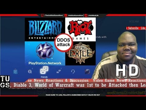 PSN Down on PS3, PS4, PS Vita DDOS Attack Blizzard, League of Legends & Path of Exile also Attacked
