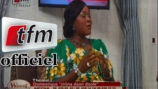 Wareef - 15 Janvier 2015 - Thème: Domestique ''Miina daan doolé''