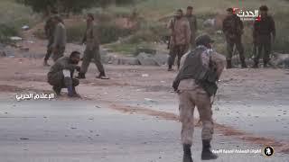الجيش الليبي يتقدم نحو وسط طرابلس