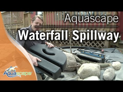 Aquascape's Waterfall Spillway
