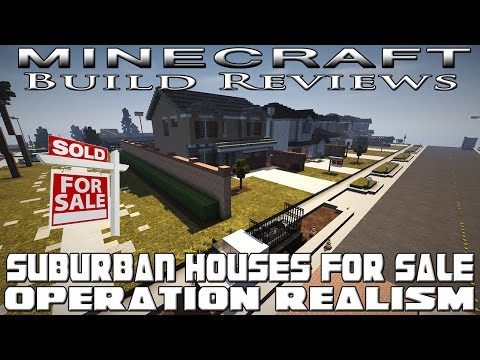 Minecraft Houses For Sale (Operation Realism Reviews)