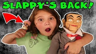 Slappy's Back! We Mailed Slappy To David's TV | Is Slappy The Doll Maker?