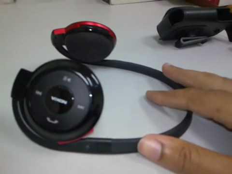 Nokia BH-503 Stereo Headset Bluetooth Headphone Black
