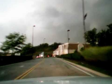 More Derecho Storm Footage 6-29-12 Charleston West Virginia