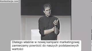 Steve Jobs - na czym polega marketing ?