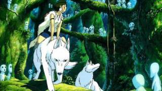 Princess Mononoke -end of Aaka Soundtrack [HQ]