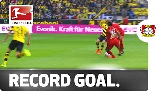 The Fastest Goal in Bundesliga History - Bellarabi Scores after 9 Seconds