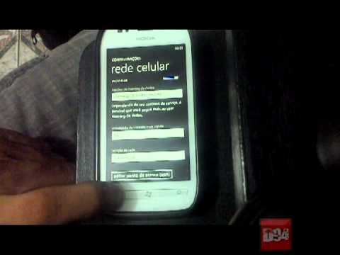 Como configurar internet (APN) no aparelho Nokia Lumia 710 [Windows Phone 7.8]