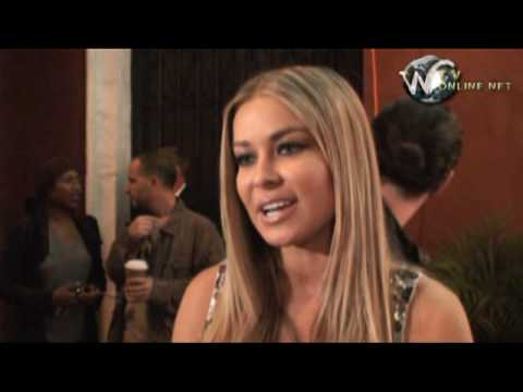 Carmen Electra arrives at the premiere of Oy Vey! My Son Is Gay