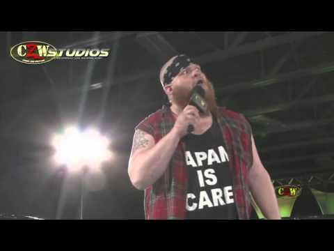 "CZW World Champion  ""The Bulldozer"" Matt Tremont calls out Atsushi Onita and FMW!"