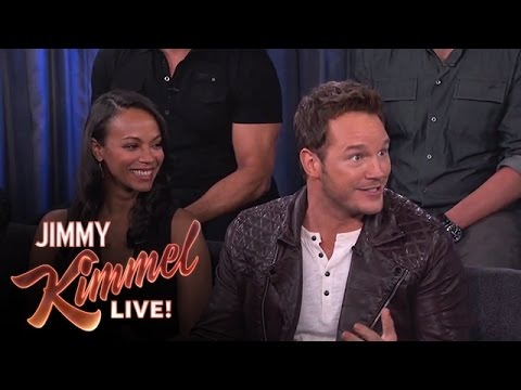 Chris Pratt on Filming Guardians of the Galaxy