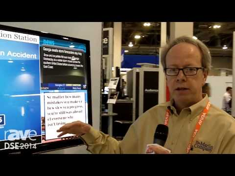 DSE 2014: The Marlin Company Talks Digital Signage Workplace Solutions