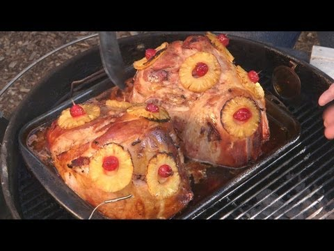 Ham with Pineapple Bacon recipe by the BBQ Pit Boys