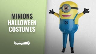 Great Minions Halloween Costumes Collection [2018]: Rubies Minions Minion Stuart Childs Inflatable