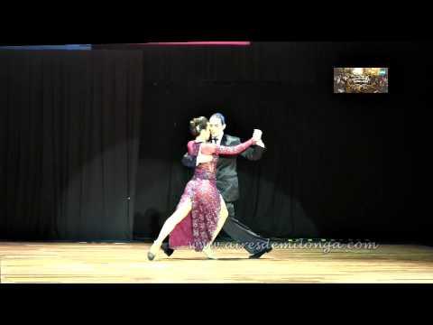 Campeon Mundial Escenario, Antes Del Premio. Manuela Rossi, Juan Malizia Gatti video