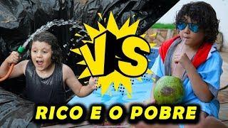 RICO VS POBRE NA PISCINA!!