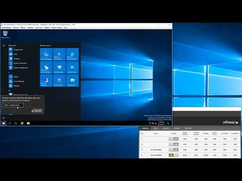 Xeon D-1541 reboot test featuring Windows Server 2016 on Intel Optane SSD DC P4800X Series NVMe SSD