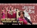 Madhuri And Gang   On The Sets Of Gulaab Gang   Releasing 7th March 2014