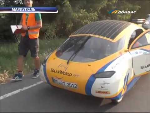 ТК Донбасс - Солнечная сенсация- солнцемобиль!