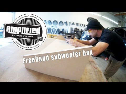 Freehand Subwoofer Box for a 2015 Toyota Tundra CrewMax