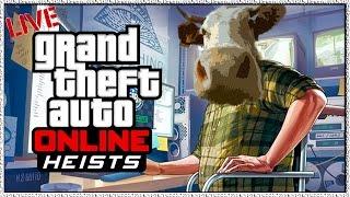 """GTA 5 Online """"Heists DLC"""" GTA V Online Heists Xbox One GTA Heist Gameplay Next Gen"""