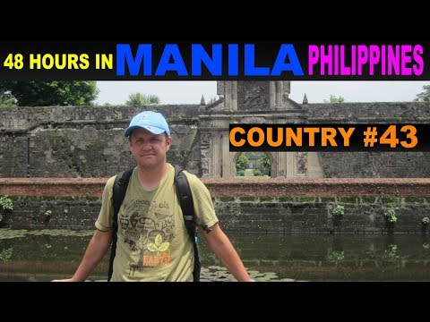 A Tourist's Guide to Manila, The Philippines
