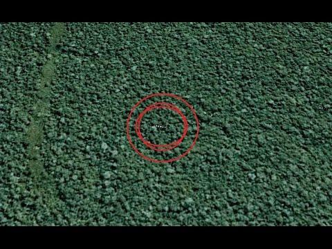 Extraño UFO en la selva del Amazonas en GOOGLE EARTH ! - Analisis