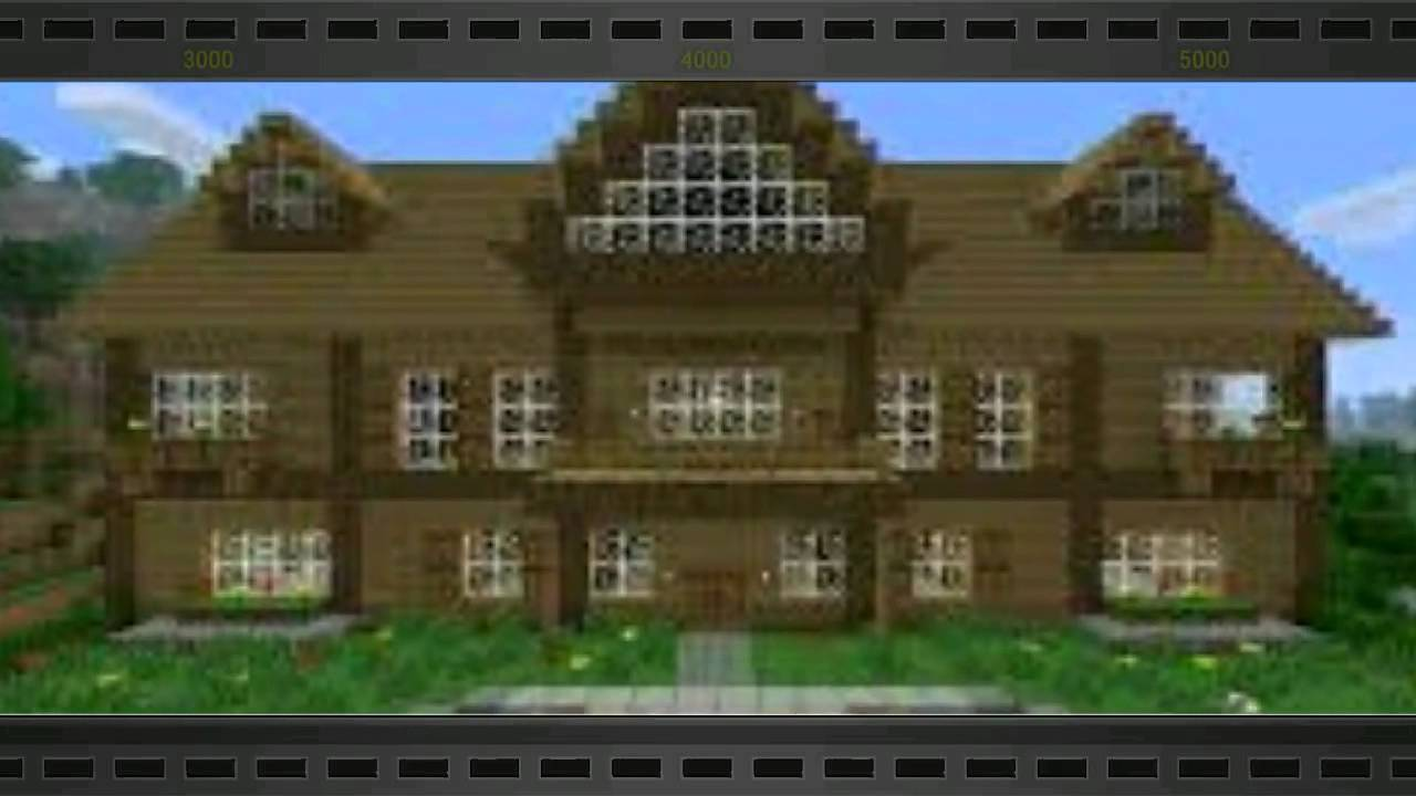 Maison minecraf les plus belle du monde youtube for Les plus belle maison