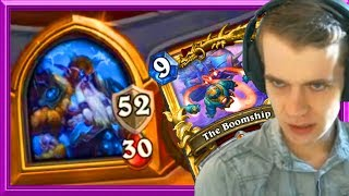82 HP Versus The Boomship; Who Wins?
