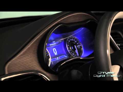 All-new 2015 Chrysler 200 Interior Design Feature