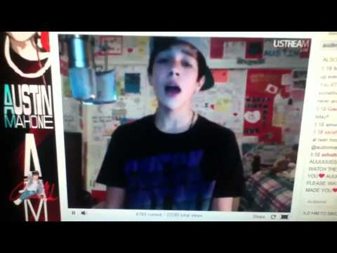 Austin Mahone Back At One 2 3 12 video