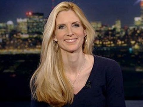 Attack Obama's Daughters! Says Ann Coulter